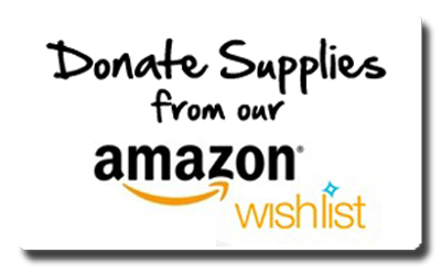 Donate Supplies to AGR from our Amazon.com Wishlist